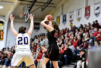 Fort Loramie vs. Mechanicsburg girls sectional final in Sidney Feb. 27